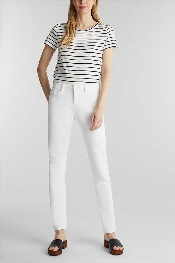 Esprit γυναικείο τζην παντελόνι ελαστικό Straight fit 0