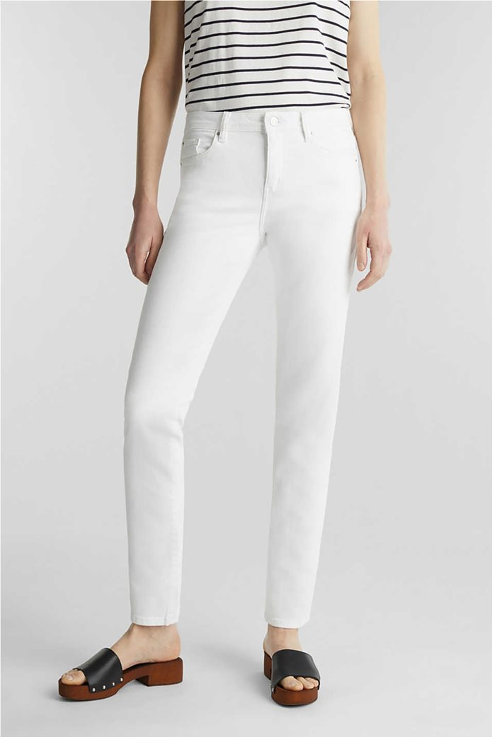 Esprit γυναικείο τζην παντελόνι ελαστικό Straight fit 1