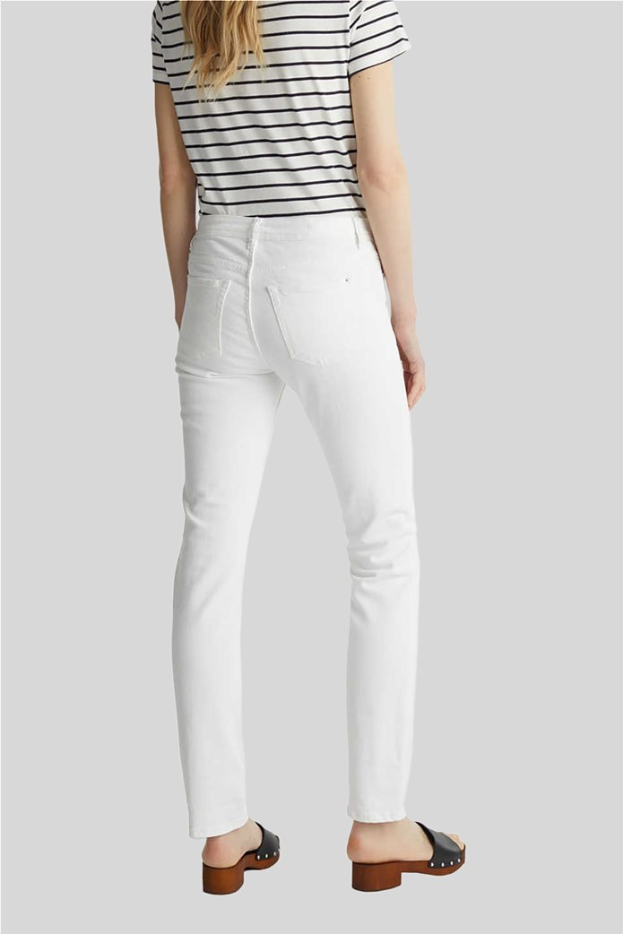 Esprit γυναικείο τζην παντελόνι ελαστικό Straight fit 2