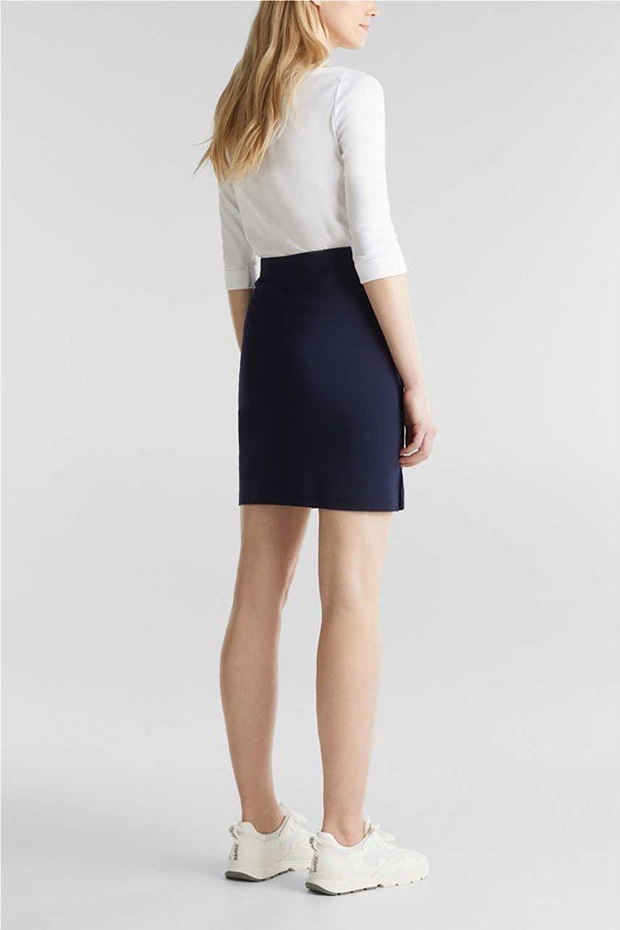 Esprit γυναικεία mini φούστα με διακοσμητικές πιέτες 2