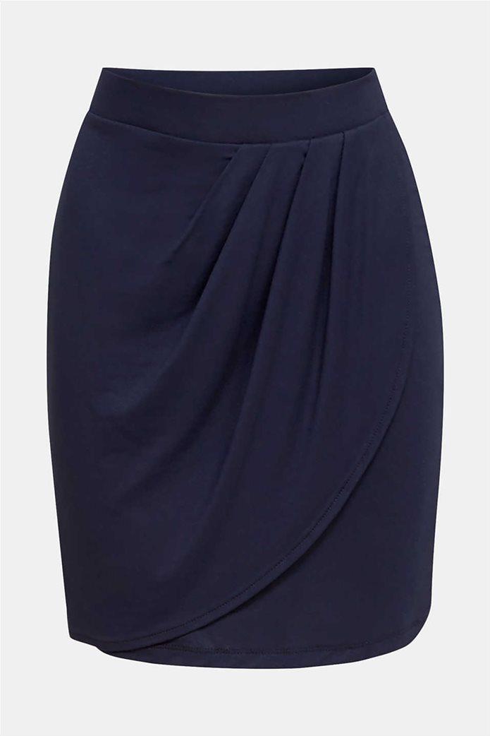 Esprit γυναικεία mini φούστα με διακοσμητικές πιέτες 3