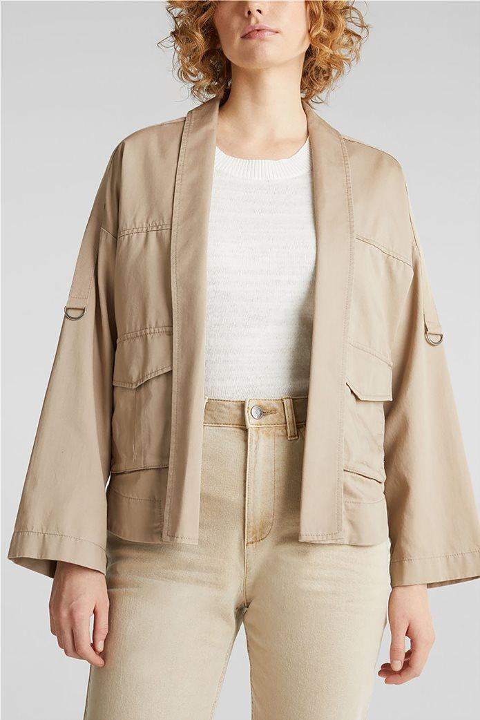 Esprit γυναικείο jacket με φαρδύ μανίκι 0
