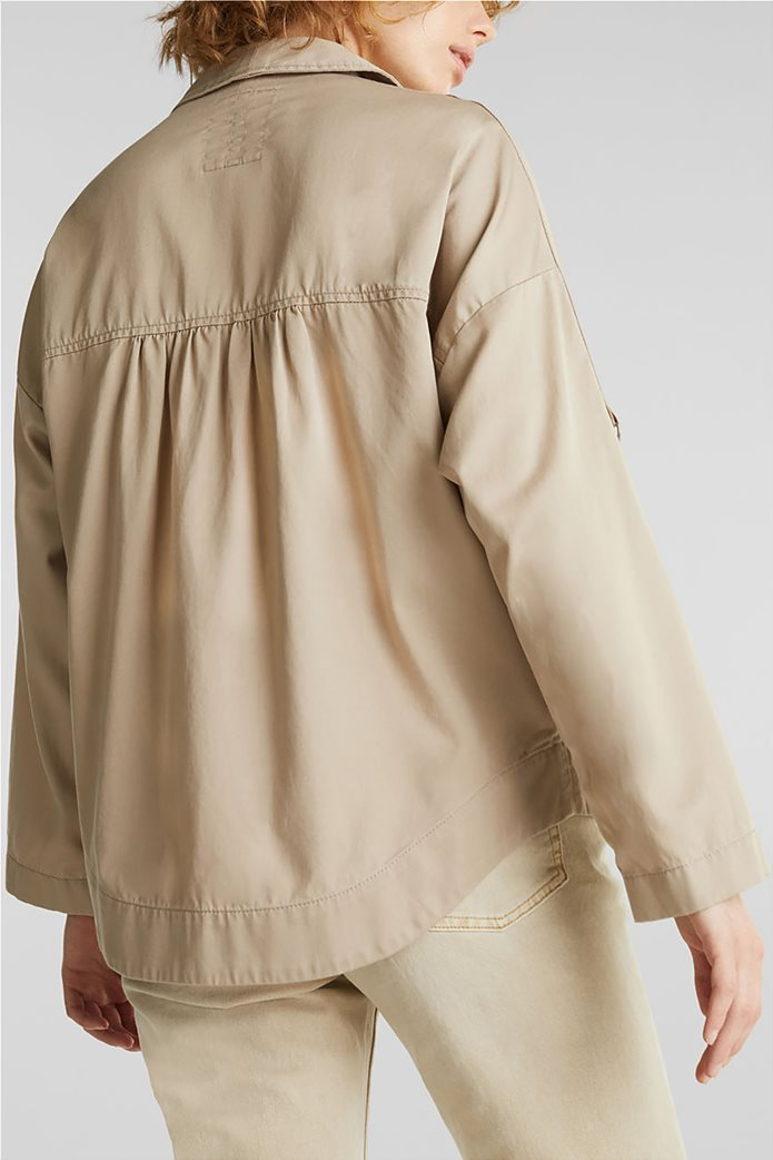 Esprit γυναικείο jacket με φαρδύ μανίκι 1
