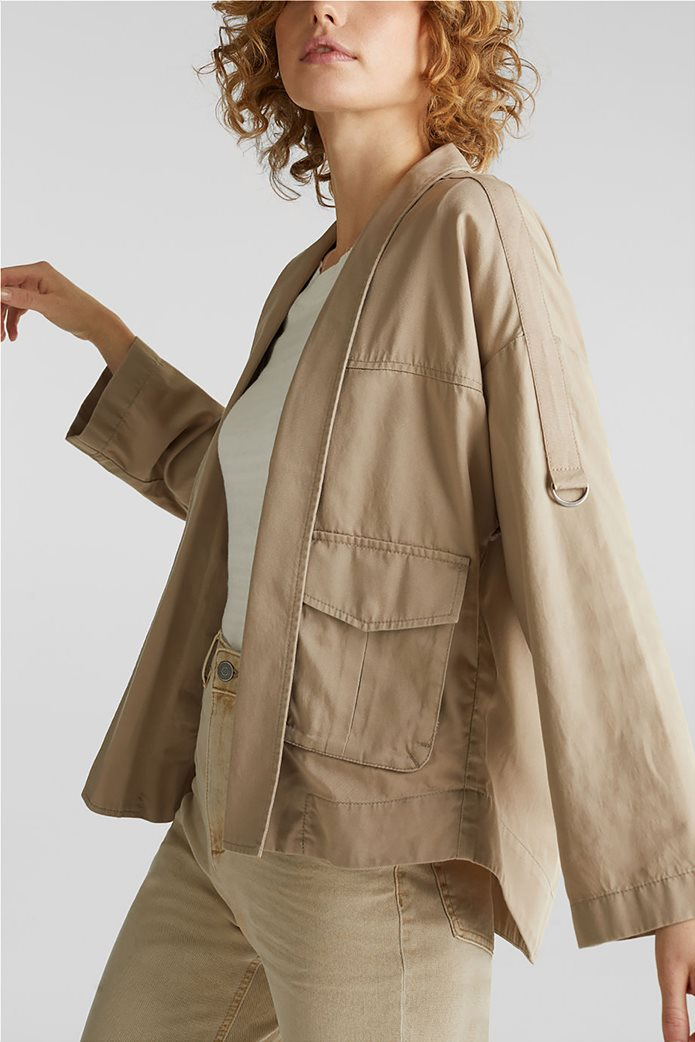Esprit γυναικείο jacket με φαρδύ μανίκι 3