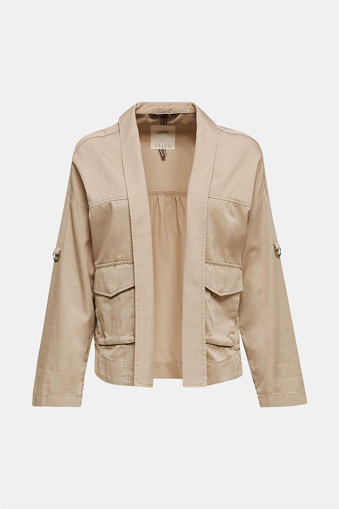 Esprit γυναικείο jacket με φαρδύ μανίκι 5