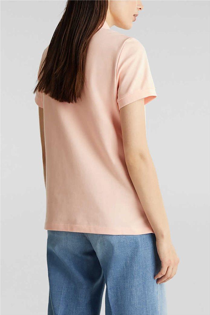 Esprit γυναικεία polo πικέ μπλούζα 2