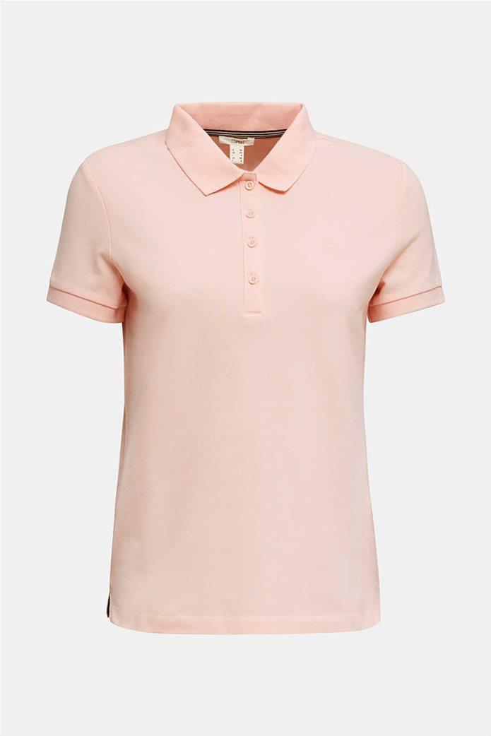 Esprit γυναικεία polo πικέ μπλούζα 3