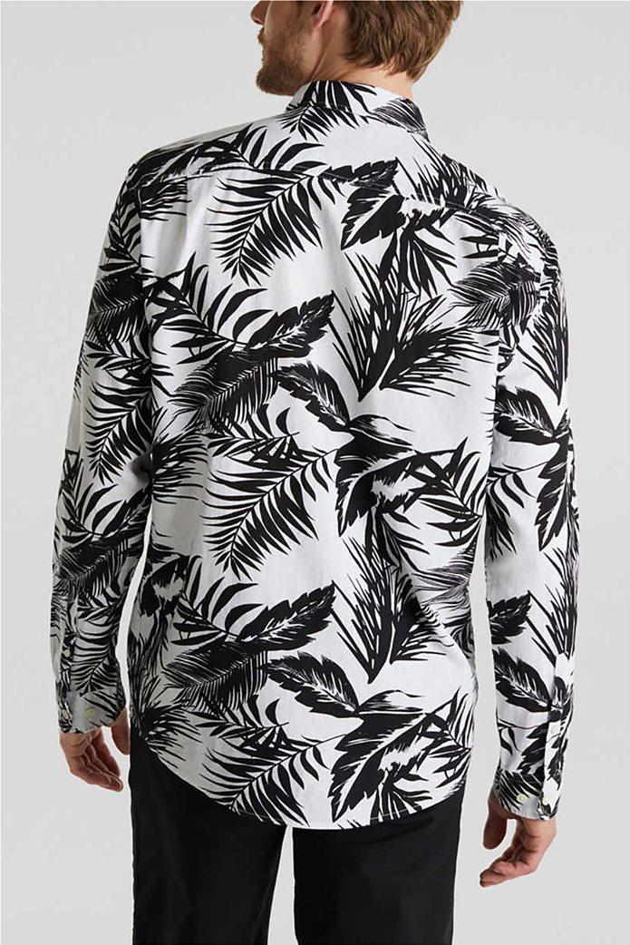 Esprit ανδρικό πουκάμισο μακρυμάνικο floral 2