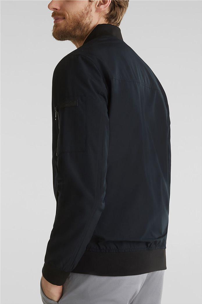 Esprit ανδρικό bomber μπουφάν με logo patch 2