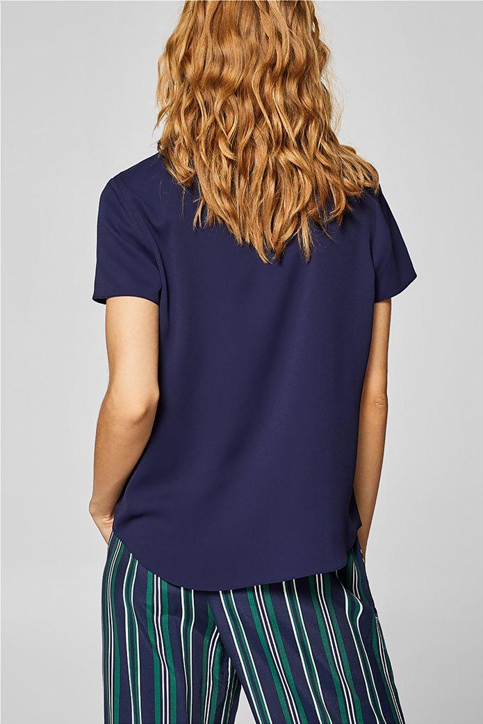 Esprit γυναικεία μπλούζα με γυριστό γιακά 3