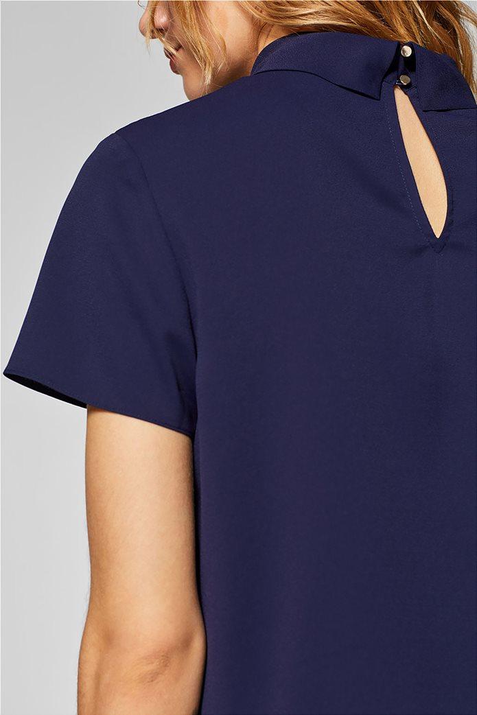 Esprit γυναικεία μπλούζα με γυριστό γιακά 6