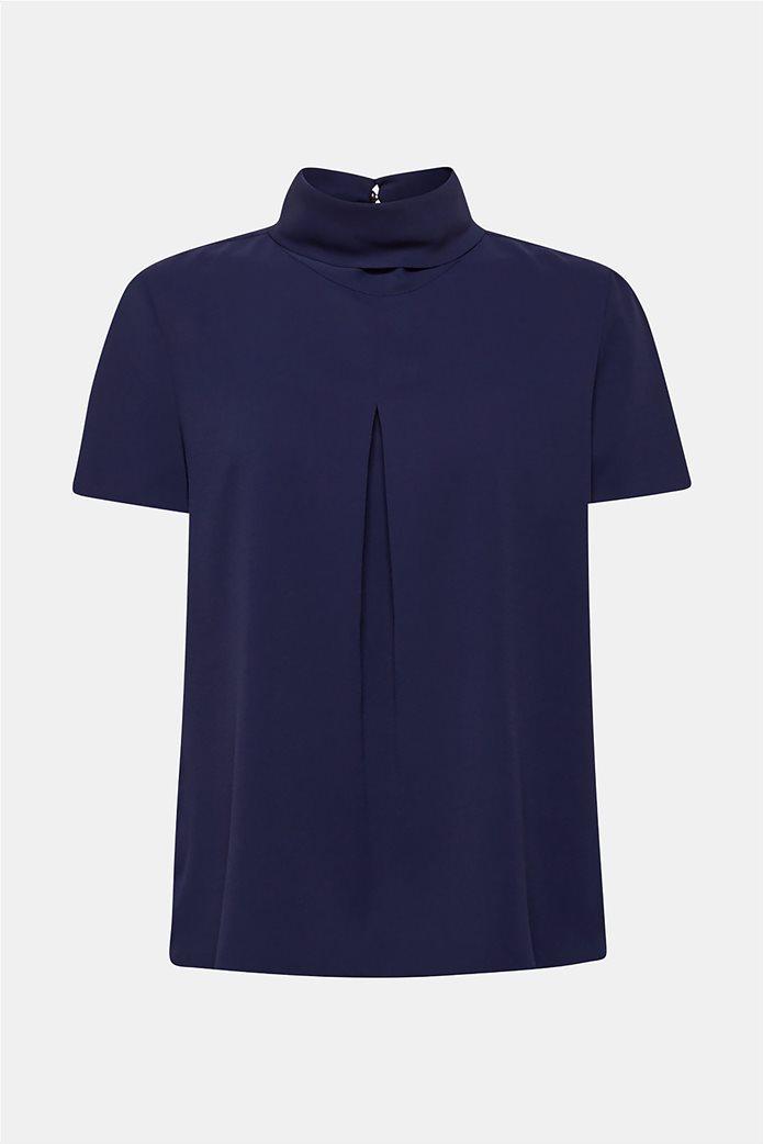 Esprit γυναικεία μπλούζα με γυριστό γιακά 8