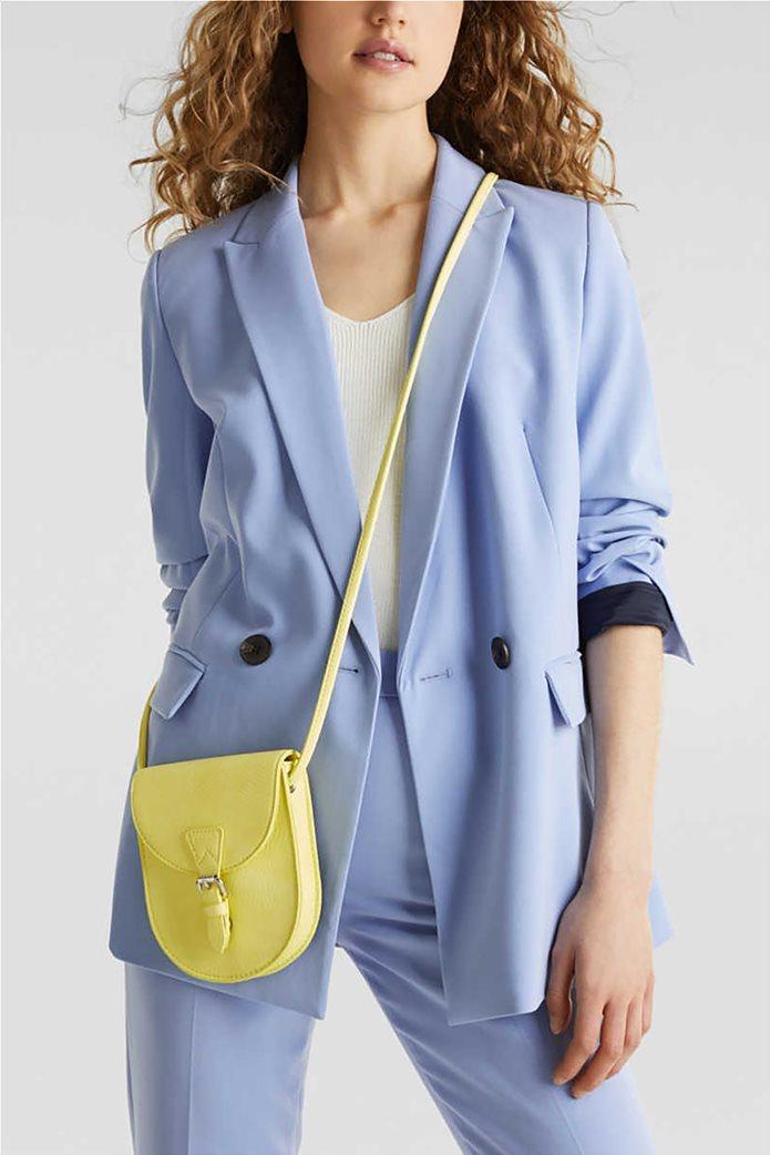 Esprit γυναικεία τσάντα crossbody με flap κλείσιμο και μεταλλική αγκράφα 1