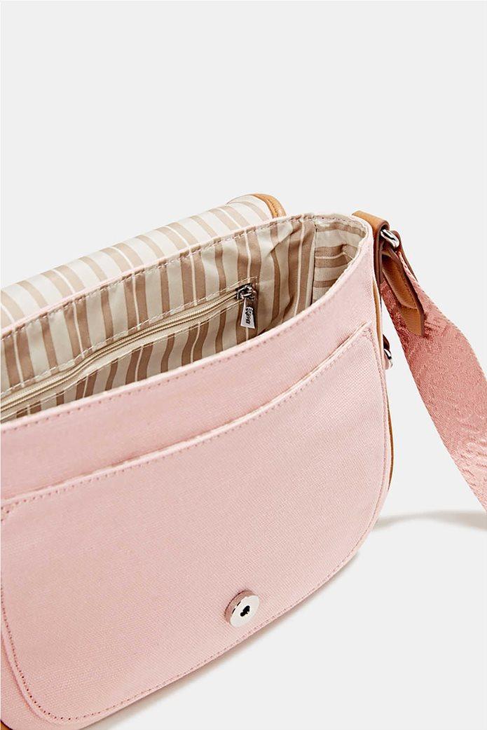 Esprit γυναικεία τσάντα crossbody με flap κλείσιμο 3