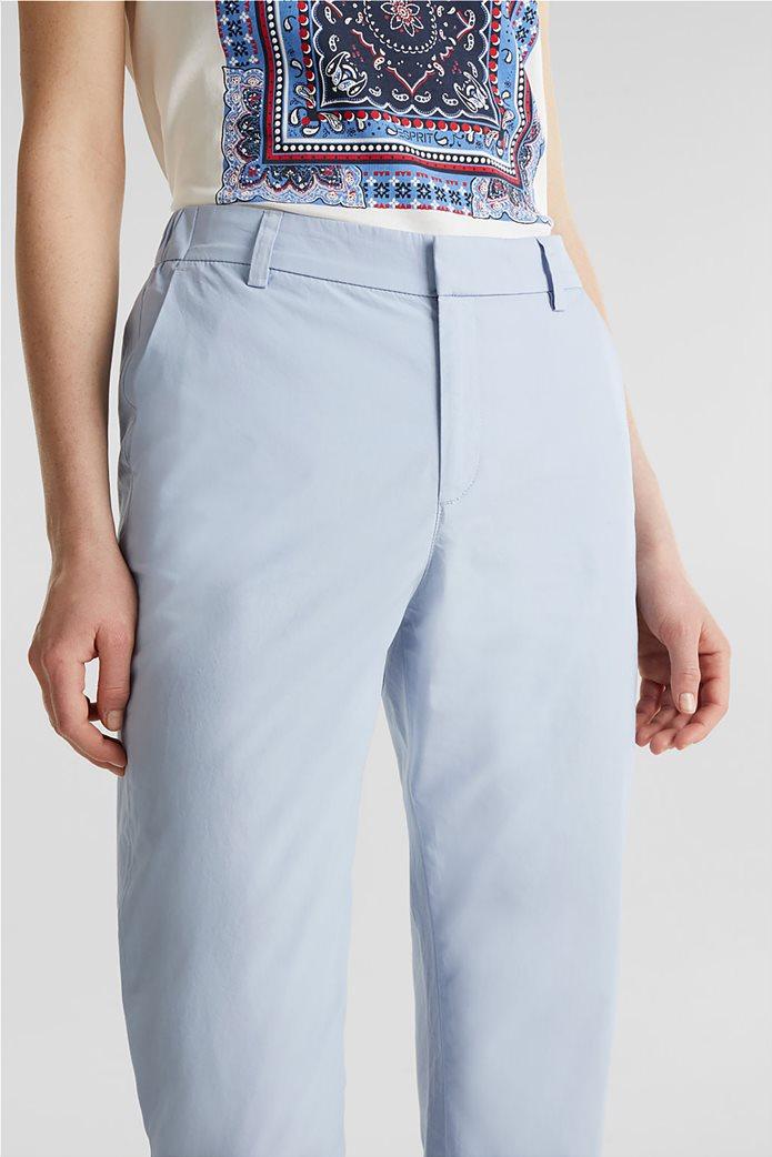 Esprit γυναικείο παντελόνι chino cropped 2