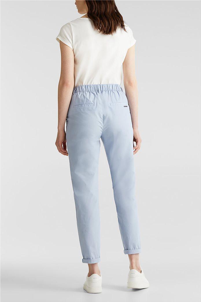 Esprit γυναικείο παντελόνι chino cropped 3