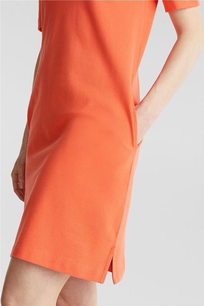 Esprit γυναικείo mini φόρεμα polo με κεντημένο logo 2