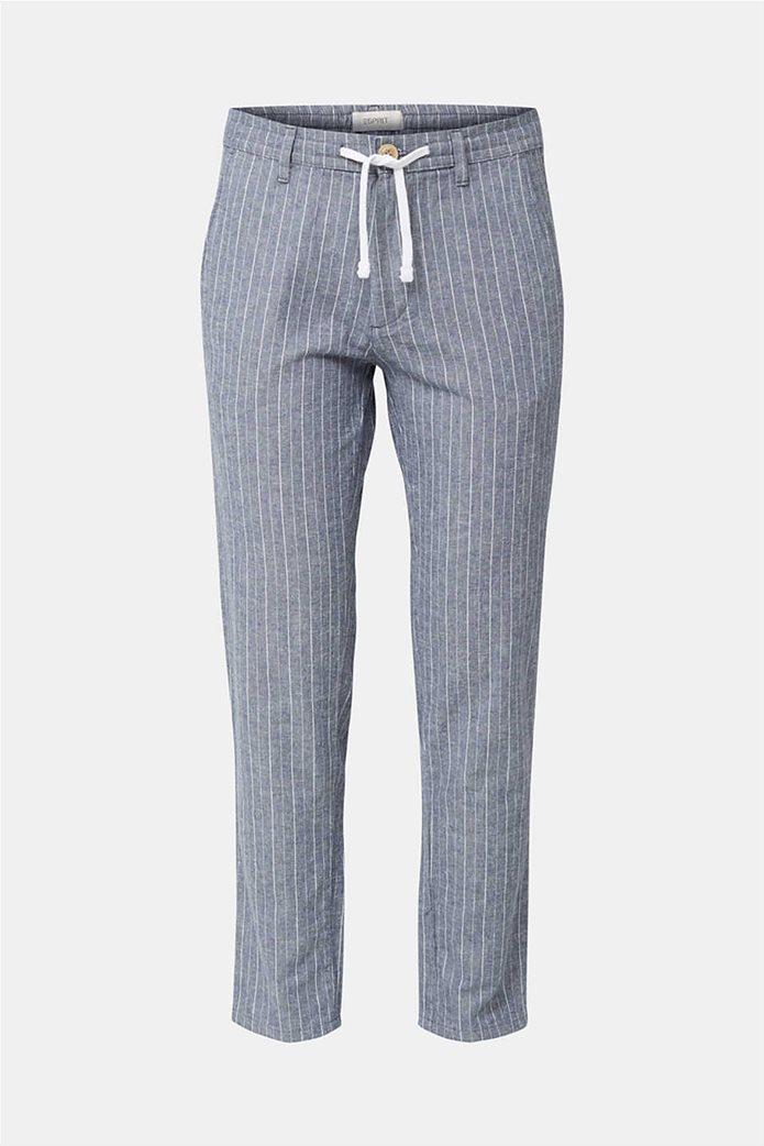 Esprit ανδρικό ριγέ παντελόνι με τσέπες 3