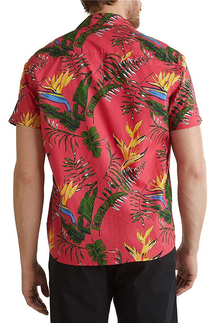 Esprit ανδρικό πουκάμισο με all-over tropical print 1