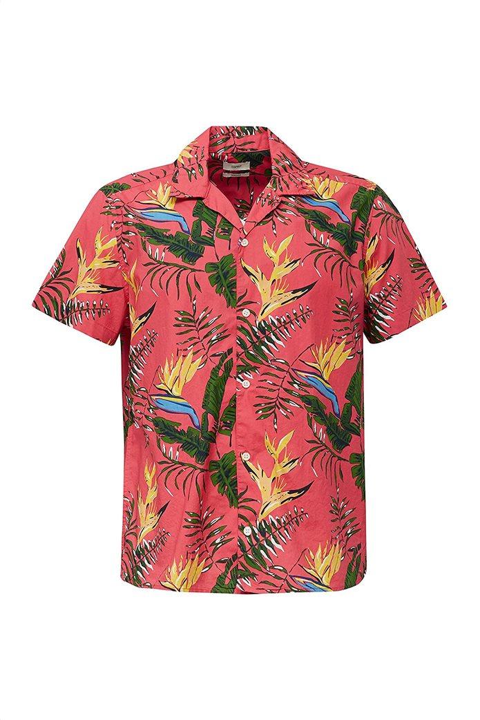 Esprit ανδρικό πουκάμισο με all-over tropical print 2
