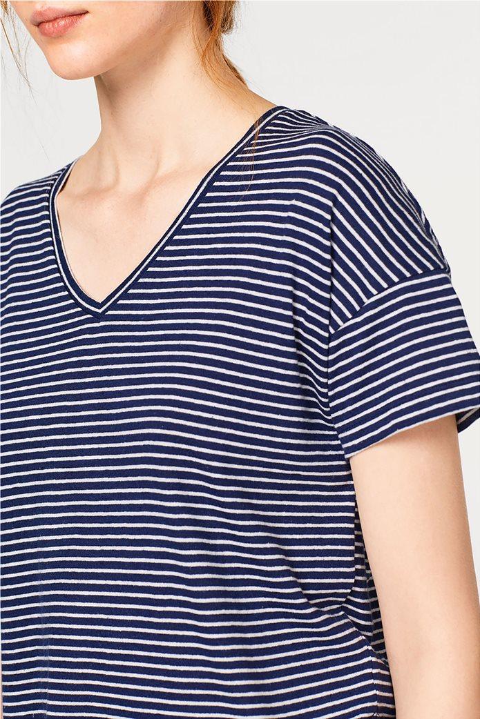 c99fe3be3f14 Esprit γυναικεία μπλούζα ριγέ κοντομάνικη 2