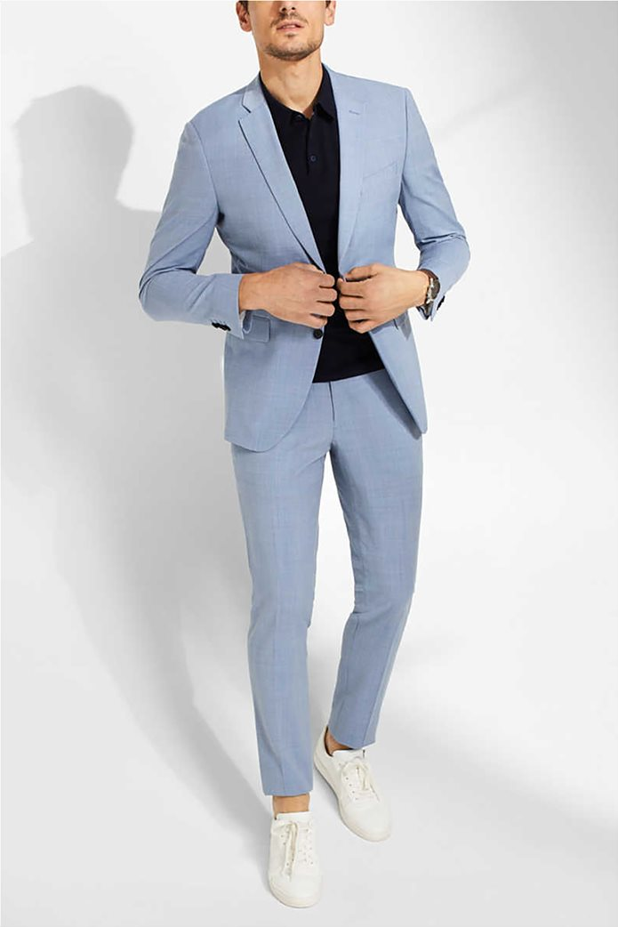 Esprit ανδρική πλεκτή πόλο μπλούζα κοντομάνικη 2