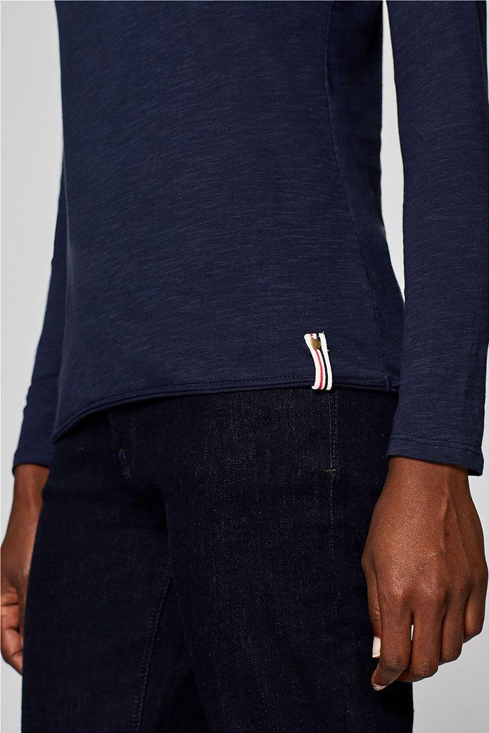 Esprit γυναικεία basic μπλούζα με μακρύ μανίκι 5