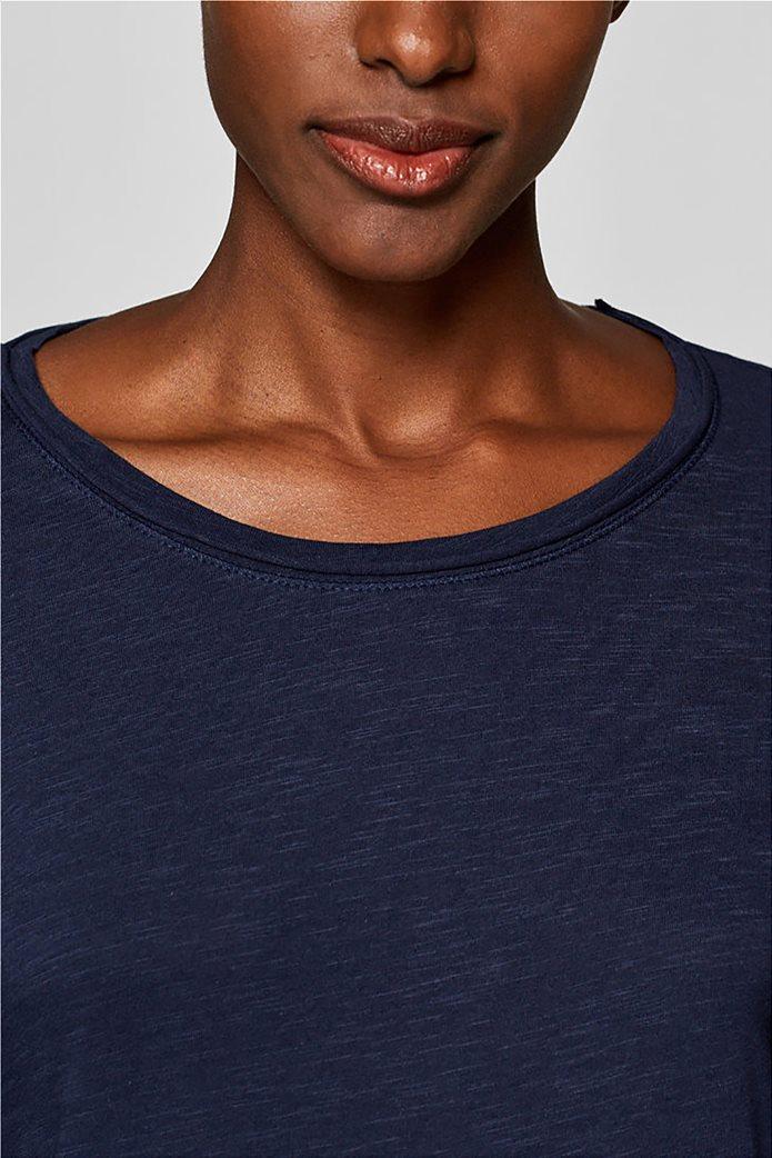 Esprit γυναικεία basic μπλούζα με μακρύ μανίκι 6