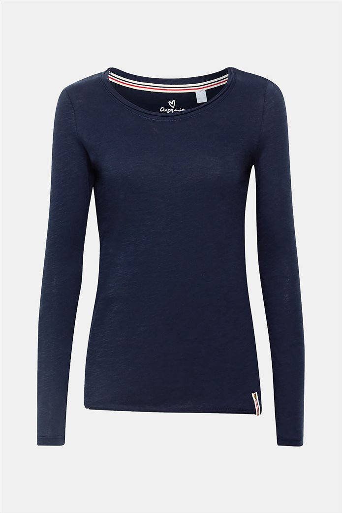 Esprit γυναικεία basic μπλούζα με μακρύ μανίκι 7