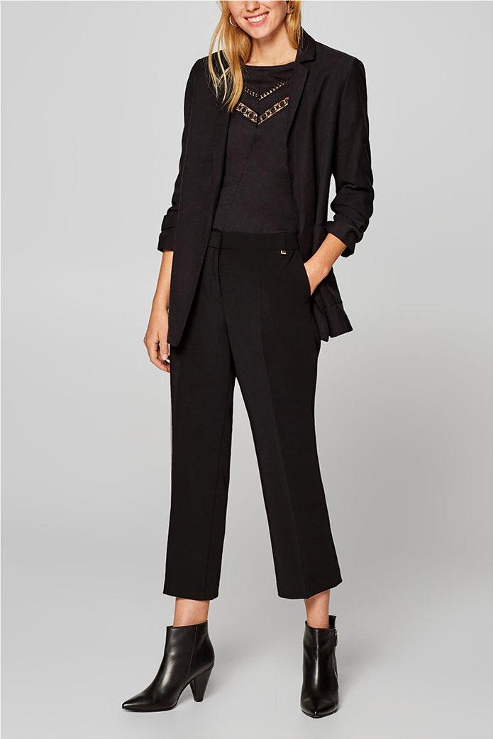 Esprit γυανικεία μπλούζα με δαντέλα 1