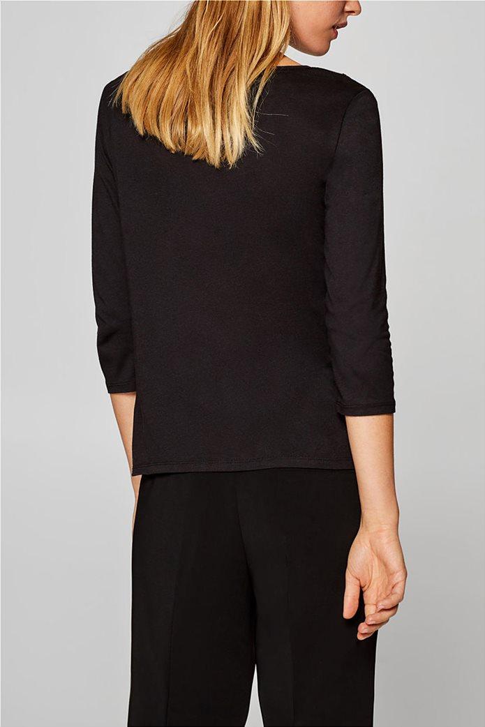 Esprit γυανικεία μπλούζα με δαντέλα 3