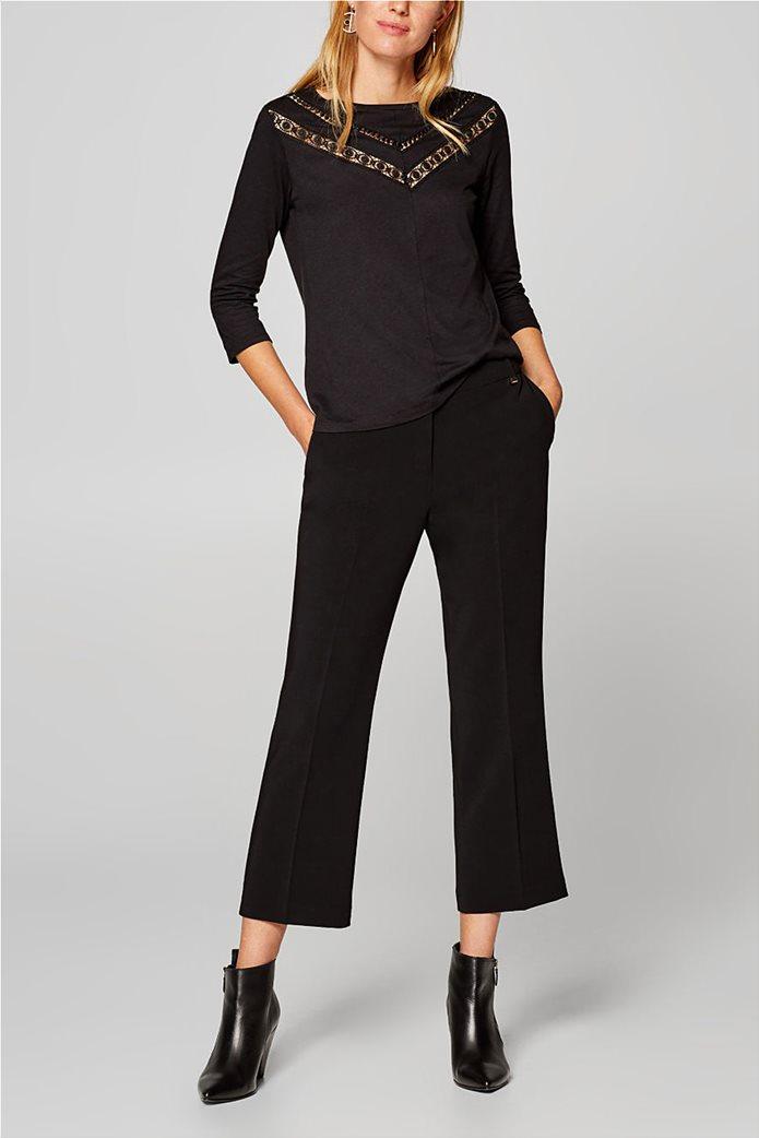 Esprit γυανικεία μπλούζα με δαντέλα 5