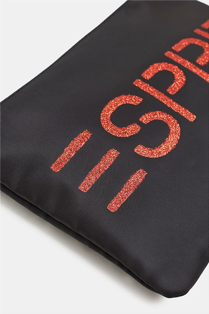 Esprit γυναικείο νεσεσέρ με glitter print 1