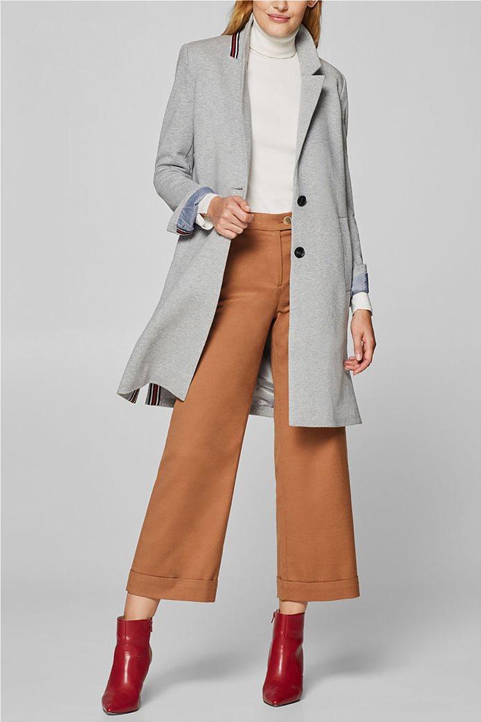 0259ce9d49cd Esprit γυναικείο casual παλτό melange 1
