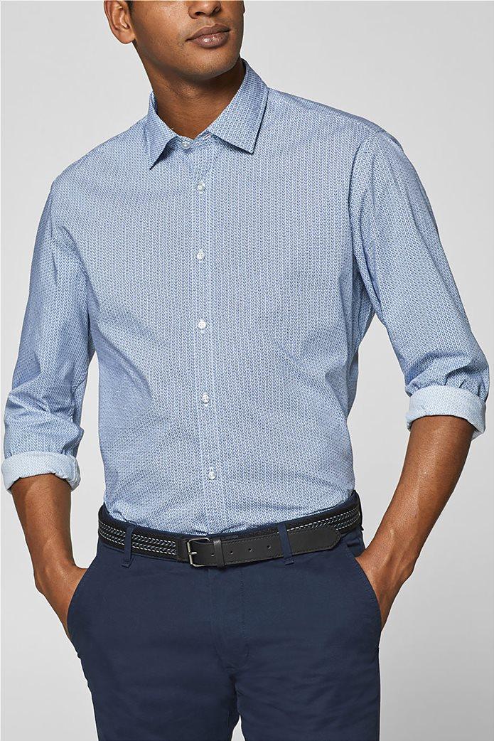 d31783af80af Esprit ανδρικό πουκάμισο με all-over print και τεχνολογία COOLMAX® 0