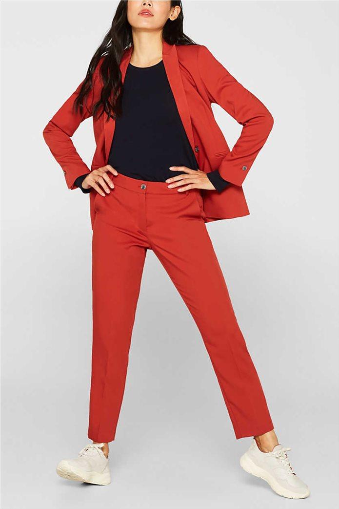 Esprit γυναικεία πλεκτή μπλούζα μονόχρωμη 2