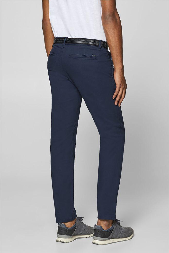 Esprit ανδρικό παντελόνι chino slim με ζώνη (32L) 3