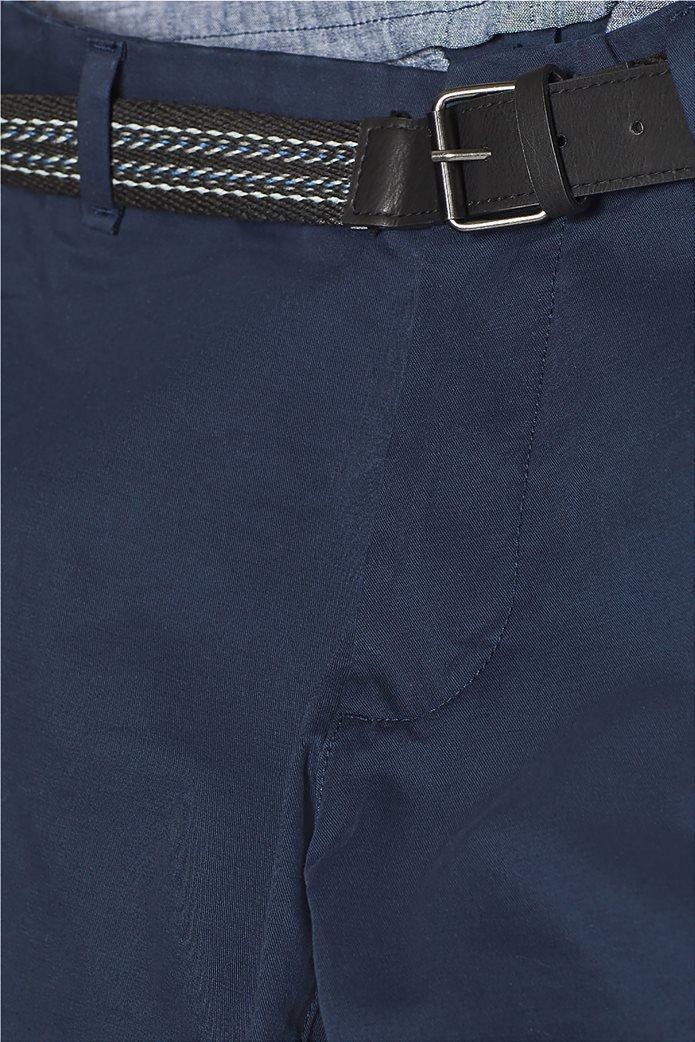 Esprit ανδρικό παντελόνι chino slim με ζώνη (32L) 4