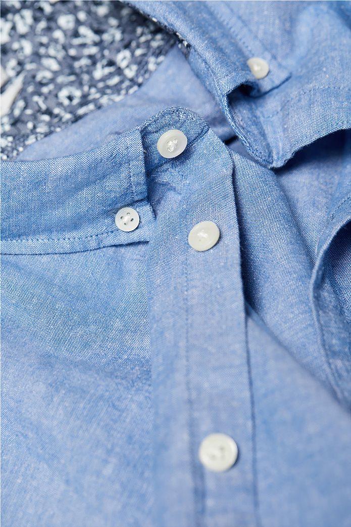 Esprit ανδρικό λινό πουκάμισο με τσέπη 4