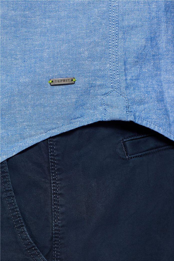 Esprit ανδρικό λινό πουκάμισο με τσέπη 6