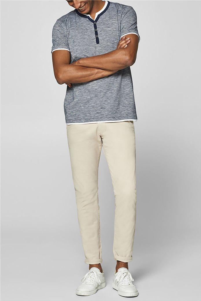 Esprit ανδρική ριγέ μπλούζα με layer 2