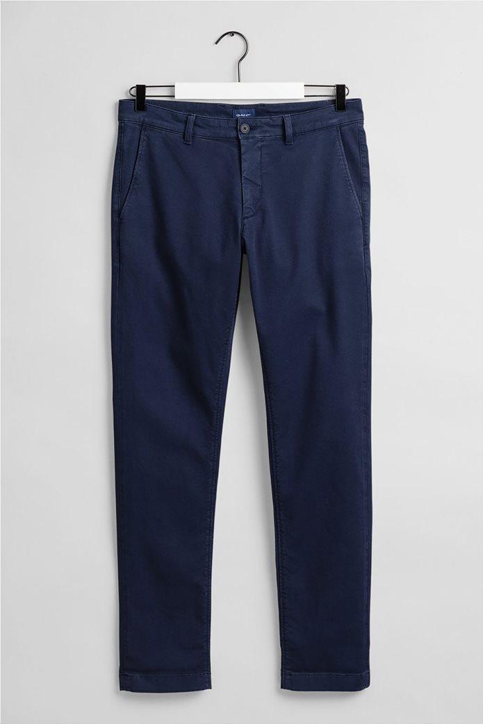 "Gant ανδρικό chino παντελόνι Slim Fit ""Light Canvas"" (34L) 0"