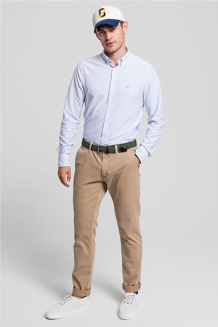 "Gant ανδρικό chino παντελόνι Slim Fit ""Light Canvas"" (36L) 0"