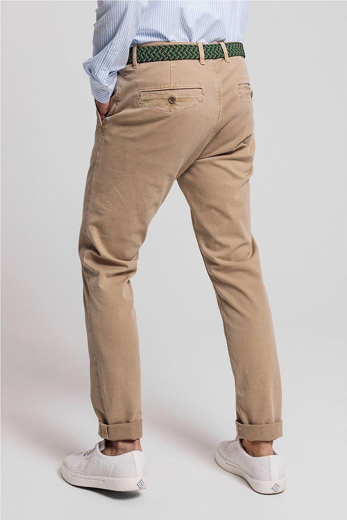 "Gant ανδρικό chino παντελόνι Slim Fit ""Light Canvas"" (36L) 1"