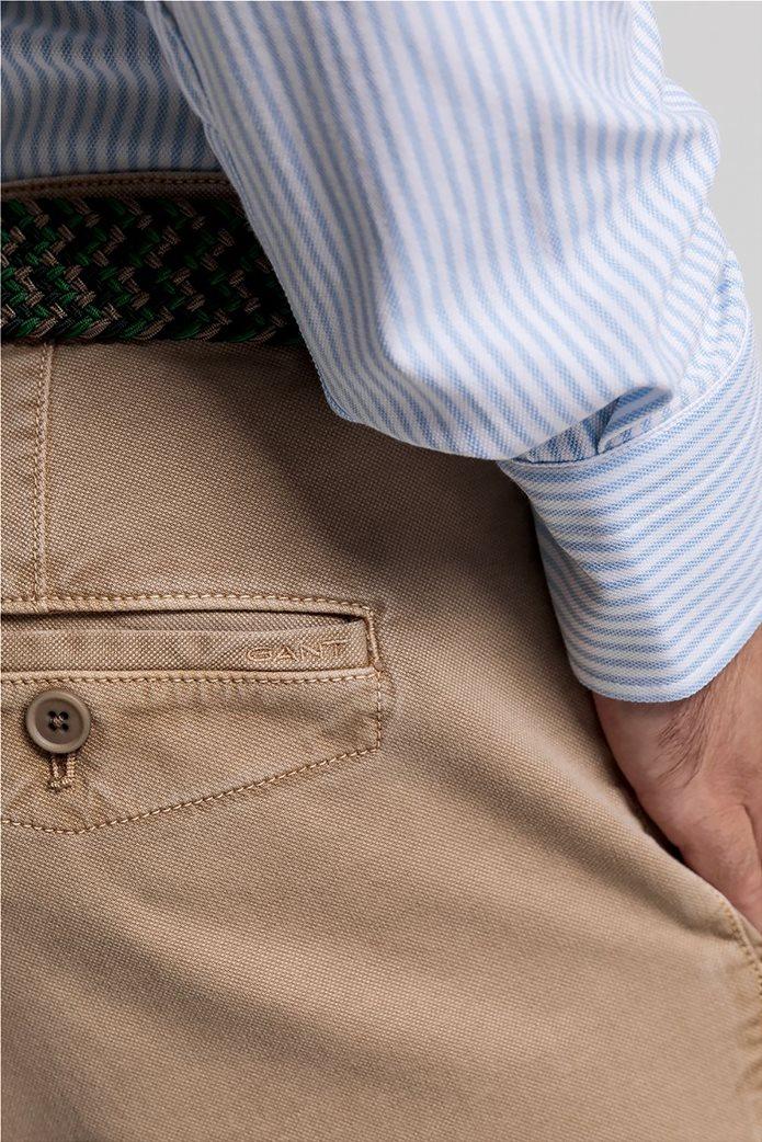 "Gant ανδρικό chino παντελόνι Slim Fit ""Light Canvas"" (36L) 2"