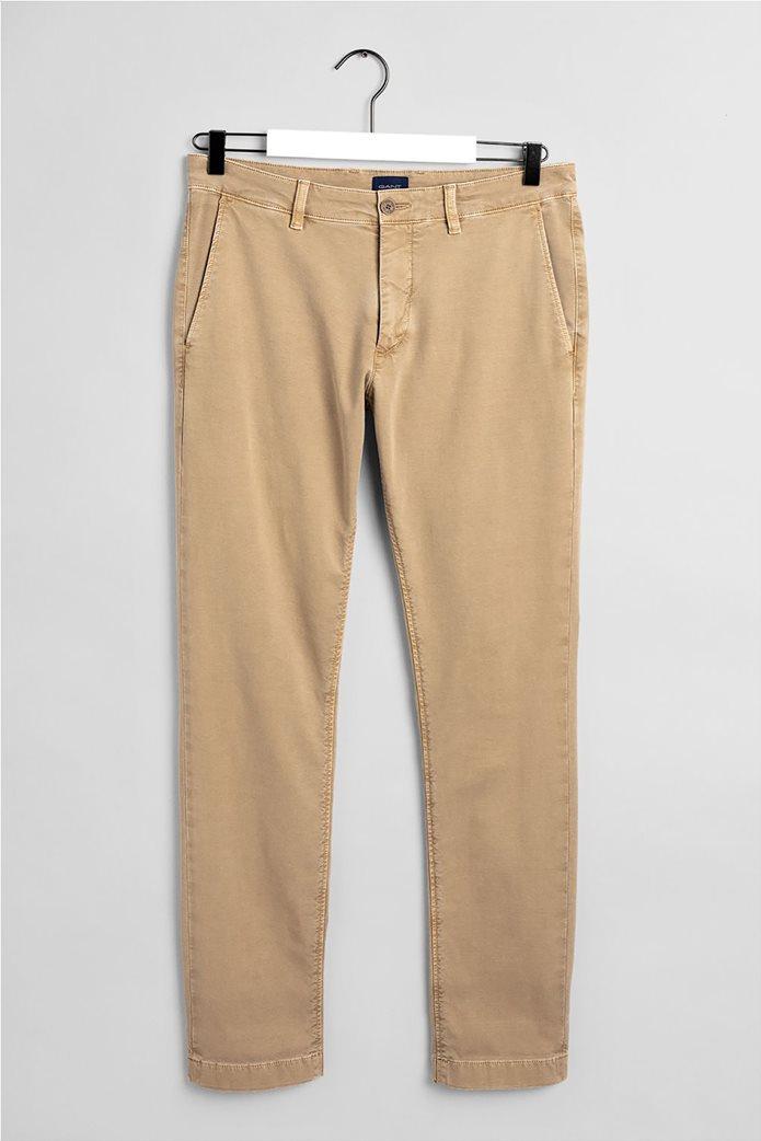"Gant ανδρικό chino παντελόνι Slim Fit ""Light Canvas"" (36L) 4"