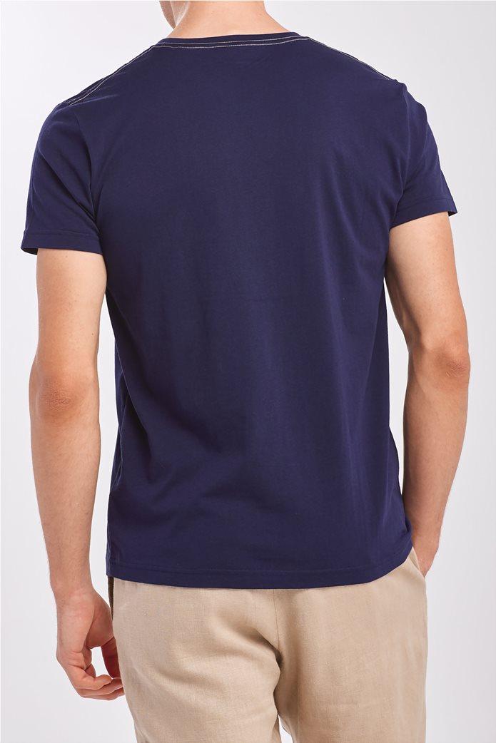 Gant ανδρικό T-shirt με λογότυπο 2
