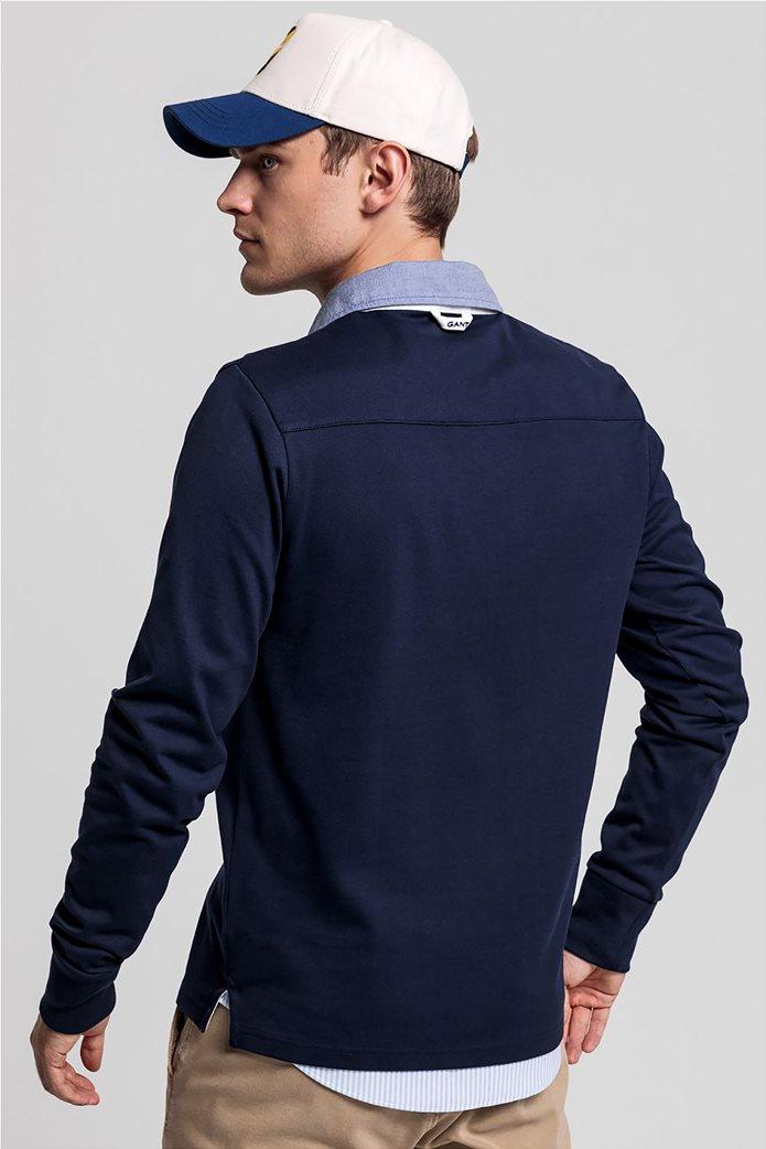 Gant ανδρική πόλο μπλούζα μακρυμάνικη 2