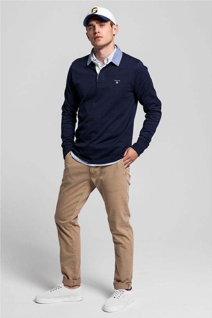 Gant ανδρική πόλο μπλούζα μακρυμάνικη 3