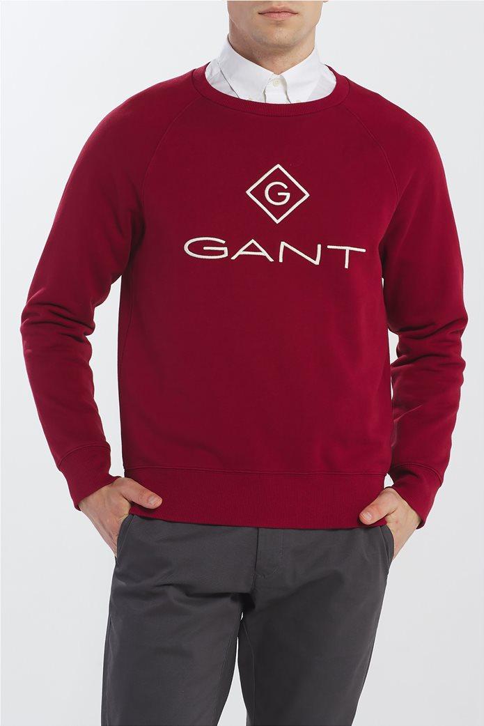 """Gant ανδρικό φούτερ """"Logo Crew"""" 0"""